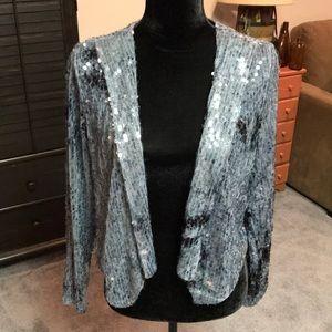 COPY - XXI sequined jacket.